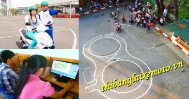 Lịch thi bằng lái xe máy 2021 Hà Nội