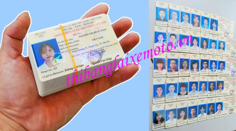 Dịch vụ cấp đổi giấy phép lái xe tại Hà Nội